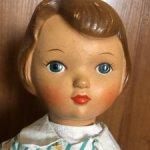 Советская опилочная кукла