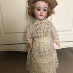 Прелестная Ольга, Armand Marseille, в антикварном наряде