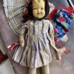 Фрося, довоенная кукла с одеждой, РЕДКОСТЬ
