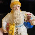 Дед Мороз папье-маше, 50х гг. Без реставраций!