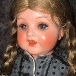 Как новая! Редкая антикварная кукла - Heubach Koppelsdorf