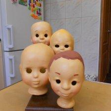 Мои авторские реплики опилочных русских кукол. Я слепила свою мечту.