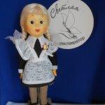 Продам реплику опилочной куклы-флиртушки Танюшки.