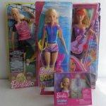 Барби Морские приключения, рок-звезда, футболистка и младенец