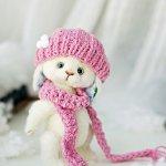 Онлайн-Мк по игрушке  ручной работы зайке, Снежинке