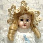 Реплика антикварной куклы бэлтон тип