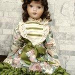 Винтажная фарфоровая кукла 1995 г