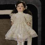 Винтажная реплика антикварной куклы