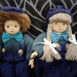Винтажные сувенирные куколки TATI-BREMEN