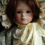 "Лимитная фарфоровая кукла Kais Каролина 18"""