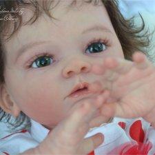 Кукла реборн Диана, молд Valentina by Gudrun Legler