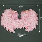 """Kрылышки ангела и корона """"baby"""" на рост от 18см до 30см"""