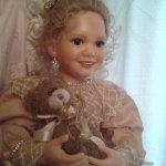 Неотразимая фарфоровая кукла Джинджер от Ann Timmerman