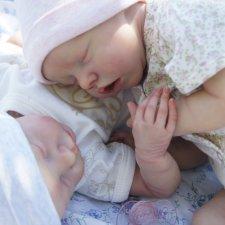 Twin A&B by Bonnie Brown. Куклы Реборн Юлии Хома