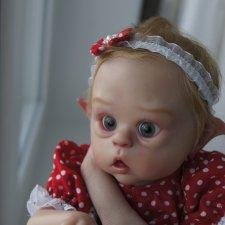 Mini Ofelia. Кукла реборн  Юлии Хома