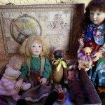 В старом большом чемодане… - мои Bella, Marigold, Bonnie baby pink и другие малышки от Lynne and Michael Roche