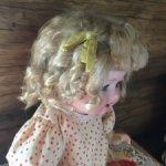 паричок для антикварной куклы с окр головы 25 см