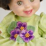 """""""Маленькая Фиалка"""" платье для малышек  Baby Face."""