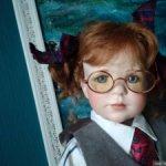 Фарфоровая кукла Брук.