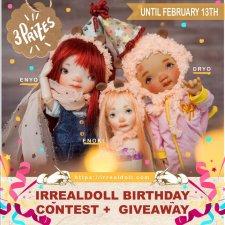 Irrealdoll - конкурс рисунков с розыгрышем кукол
