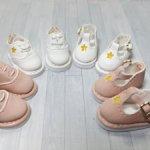 """Ботинки """"Звездочка"""" , 1/8 - две модели, розовые и белые"""