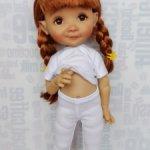 Колготки, легинсы (две длины) на Meadow dolls 28 см