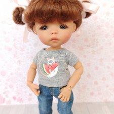 "Парики 5-6"" - 9 разных моделей, на пукифи, лати, Meadow dolls twinkles"