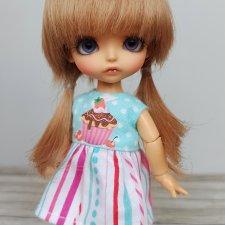 "Парики 5-6"" - разные модели, на пукифи, лати, Meadow dolls twinkles, Irrealdoll"