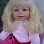 Моя первая большая куколка от Petra Lechner - Лёлька
