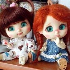 Моя сладкая парочка малышей  Bru от Island doll