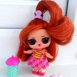 Продам рыженькую лолочку оригинал от L.O.L. Surprise Hairvibes