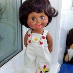 Джинсовые комбезы для кукол Galoob Baby Face и аналогичным им кукол