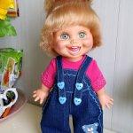 Два комбеза и футболочка для кукол Galoob Baby Face и аналогичным им кукол