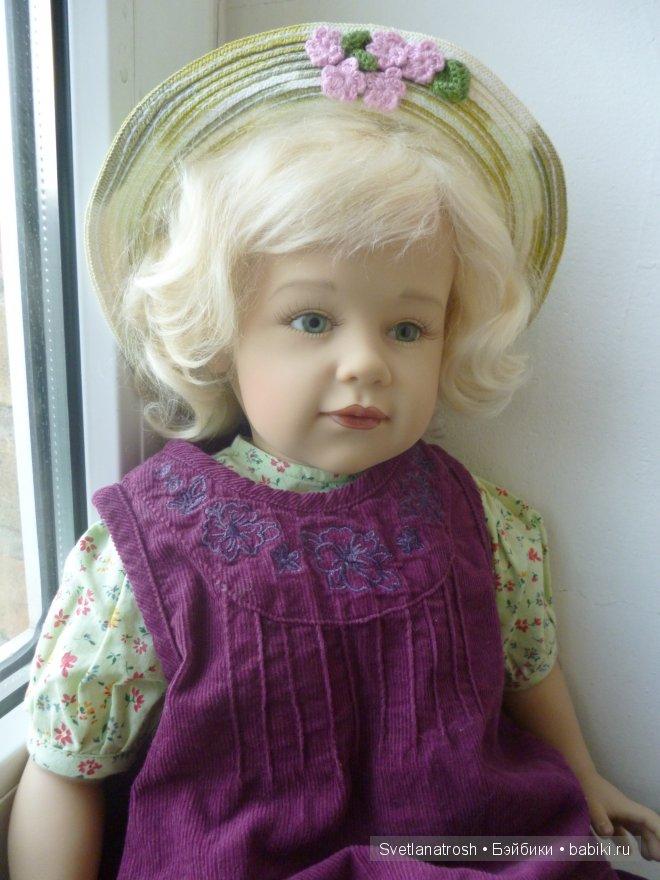Коллекционная кукла от Sissel Bjorstad Skille