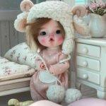 Авторская куколка на теле OB11