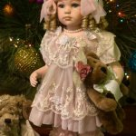 Моя винтажная красавица Изабелла, фарфоровая кукла The Leonardo Collection