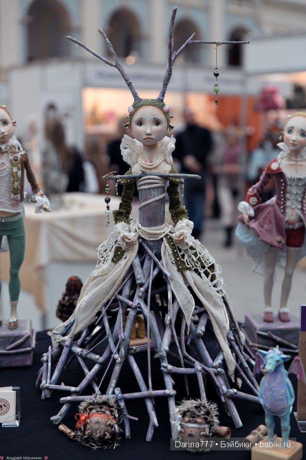 VI Московская международная выставка Искусство куклы 11 - 13 декабря 2015