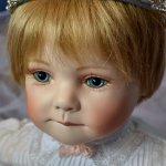 Коллекционная фарфоровая кукла от Rotraut Schrott и ее друзья