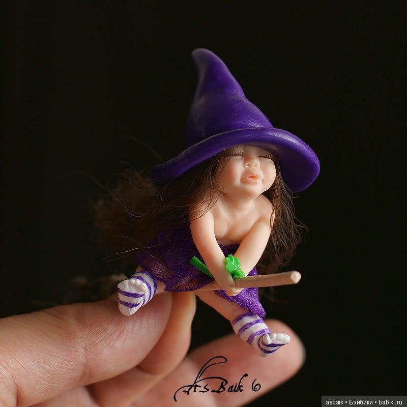 маленькая колдунья