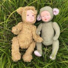 Мишка и Мышка гуляли в лесу