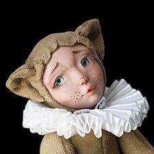 teddy-cat doll