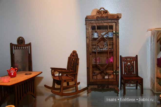 мебель 1:12 для кукольной миниатюры и создания кукольного домика