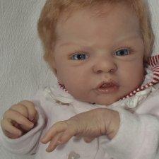 Рыжулька Эсми. Кукла-реборн Смирновой Ирины