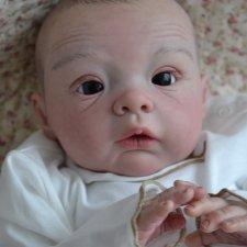 Любопытная Софийка. Кукла-реборн Смирновой Ирины