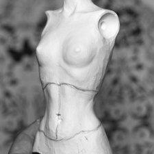 Тиффани. Новая большая шарнирная кукла - рабочий процесс