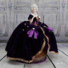 Half Doll игольница Velvet Orchid