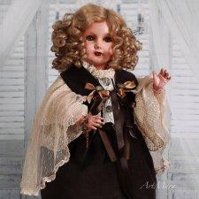Антикварная кукла Матильда