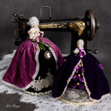 Half doll игольницы Renaissance