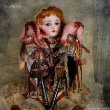 Как я играю в антикварных кукол и где их храню и сумбурное