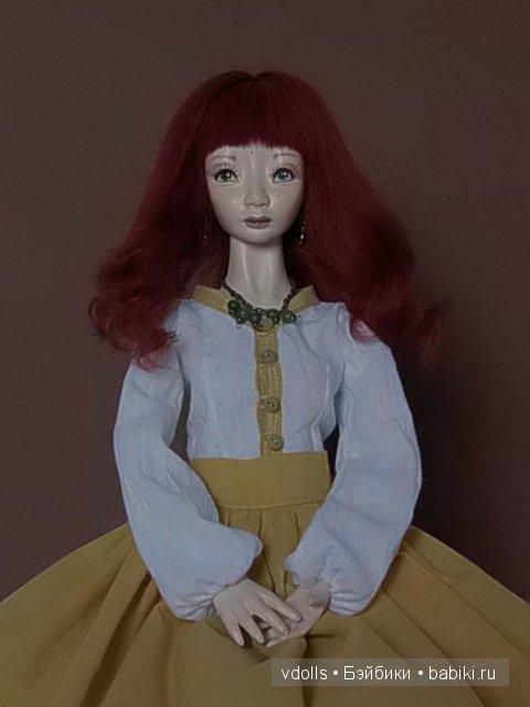 авторская шарнирная кукла Валентины Лопушко (vdolls)